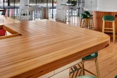 Custom hickory bar top