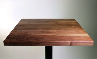 Solid Walnut Restaurant Table Top Sir Belly